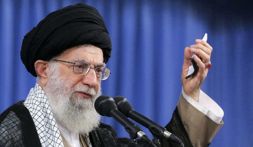 Ayatollah Khamenei, the Supreme Leader of the Islamic Republic of Iran