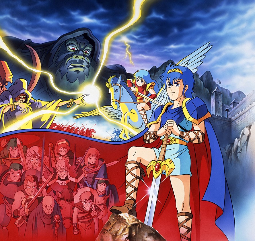 Fire Emblem: Shadow Dragon and the Blade of Light Japanese art