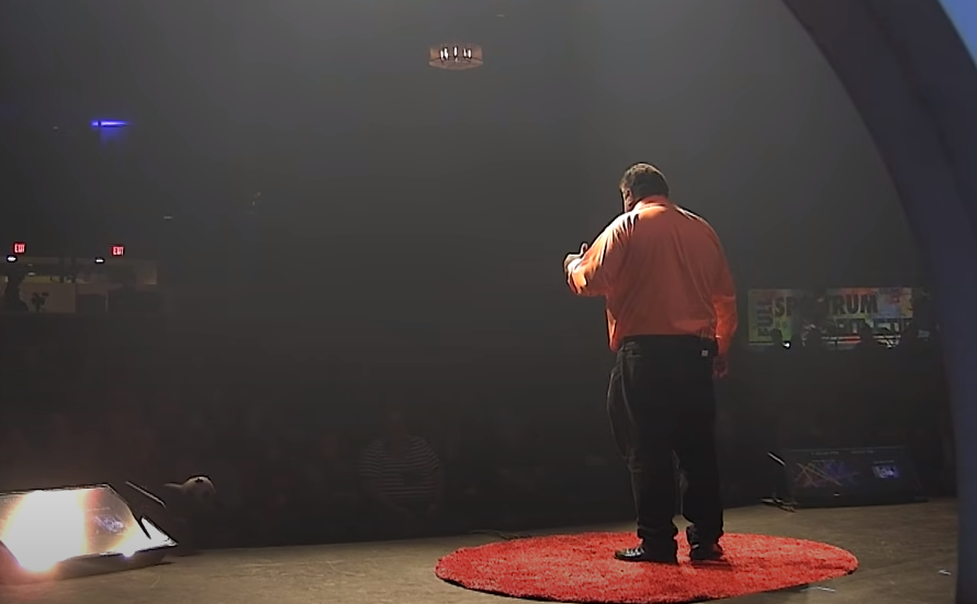 Image of Daryl Davis on the TEDxNaperville stage