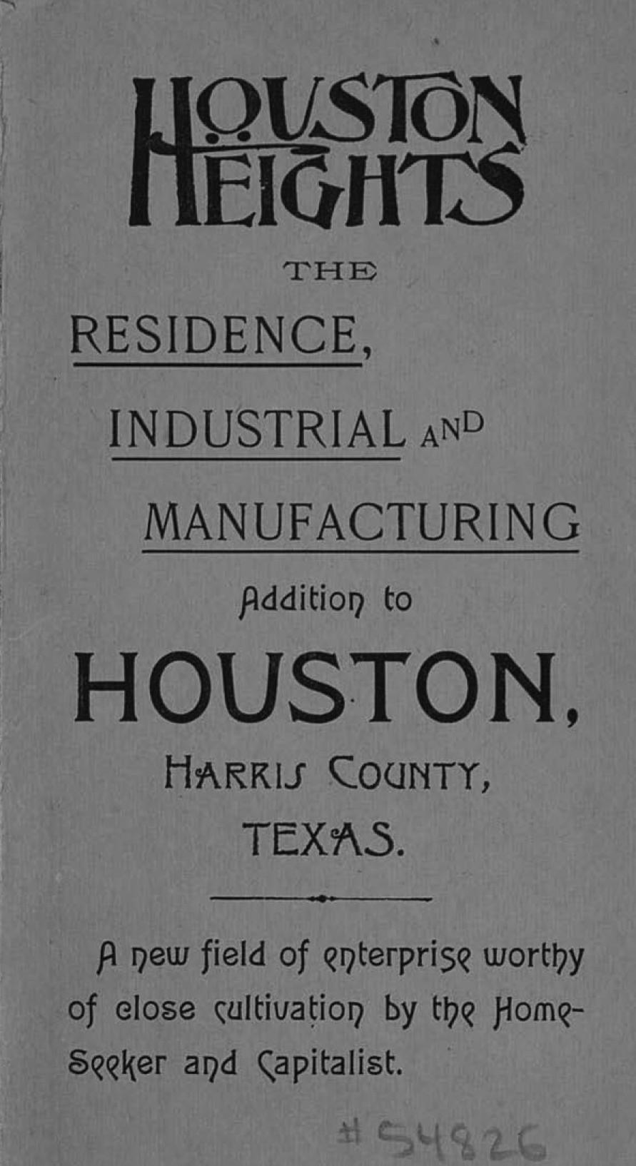 Mapping Houston Heights — Houston's First Suburb - Save
