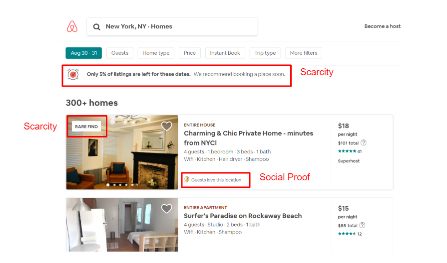 Airbnb and the art of Behavioral Influence - UX Collective
