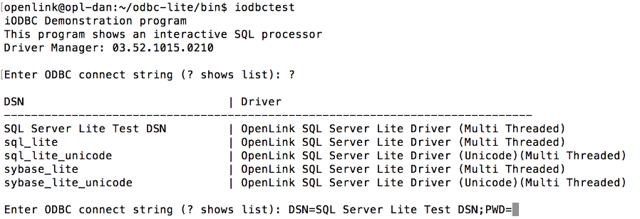 Installing the OpenLink Lite Edition ODBC Driver for SQL