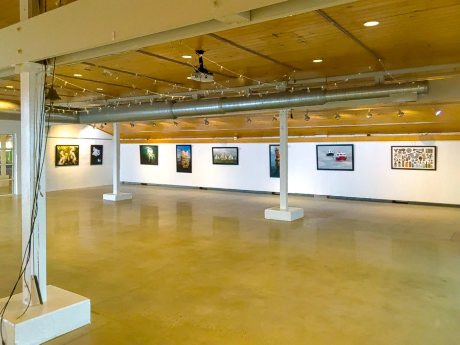 The art gallery at Annapolis Maritime Museum