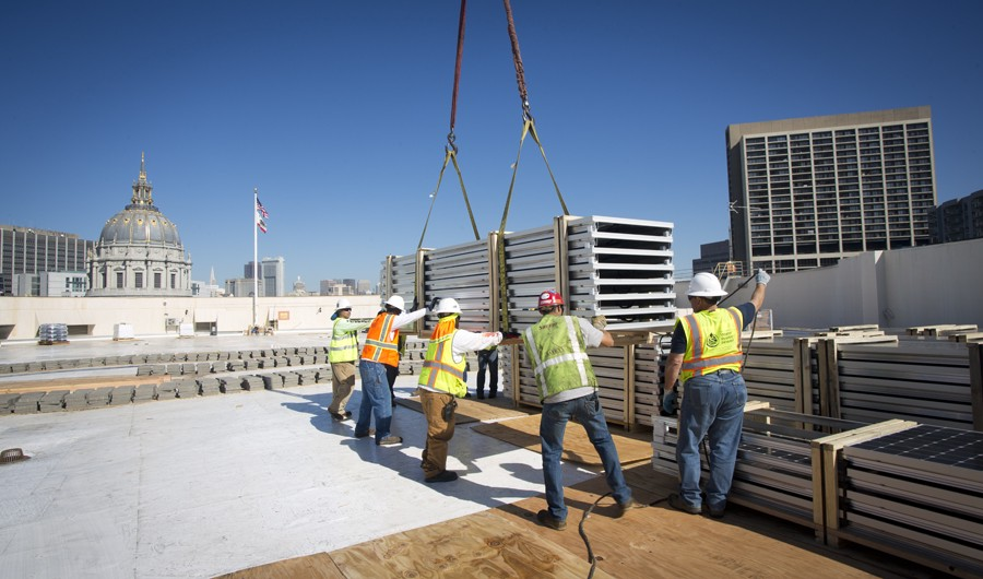 Power Enterprise: Davies Symphony Hall Solar Panel Installation