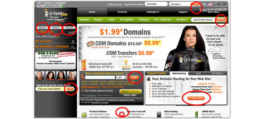 10 Common Mistakes When You Create Website Buttons - Trista
