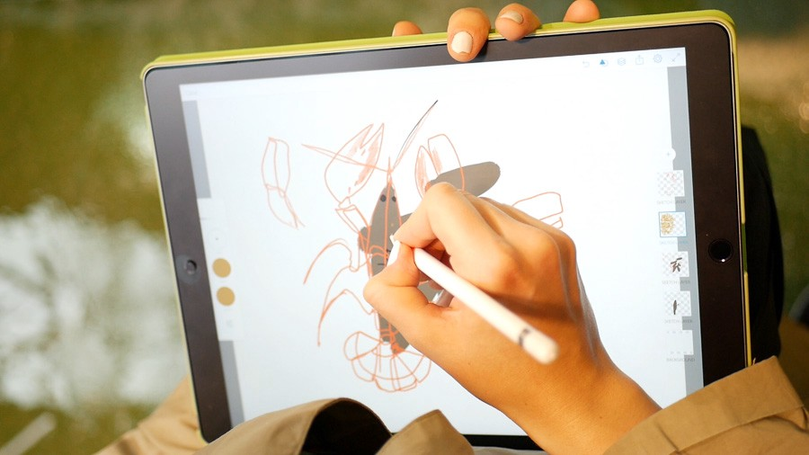 AN ILLUSTRATOR'S REVIEW OF IPAD PRO VS WACOM  AND MY