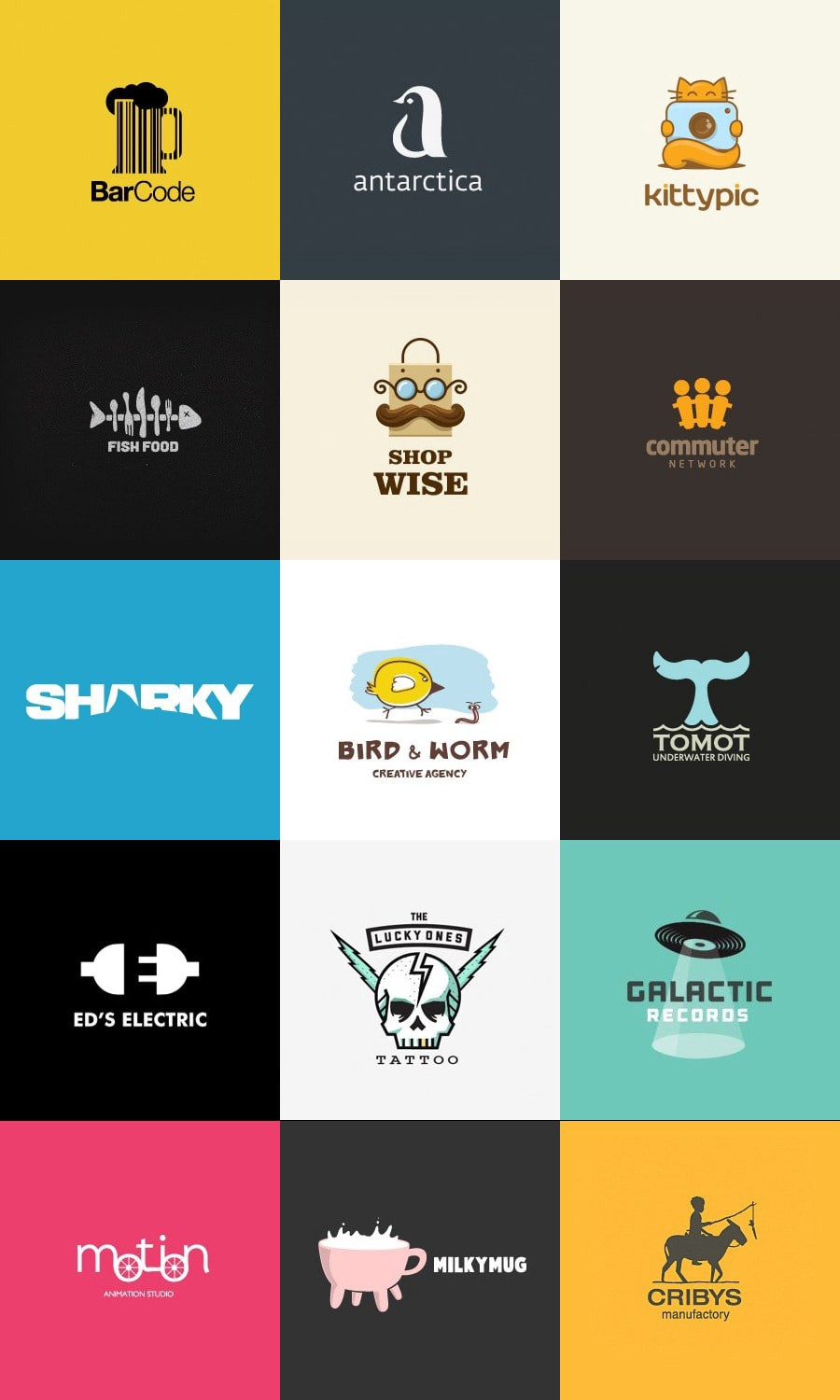 45 Creative Logo Design Ideas For Inspiration Dmitriy
