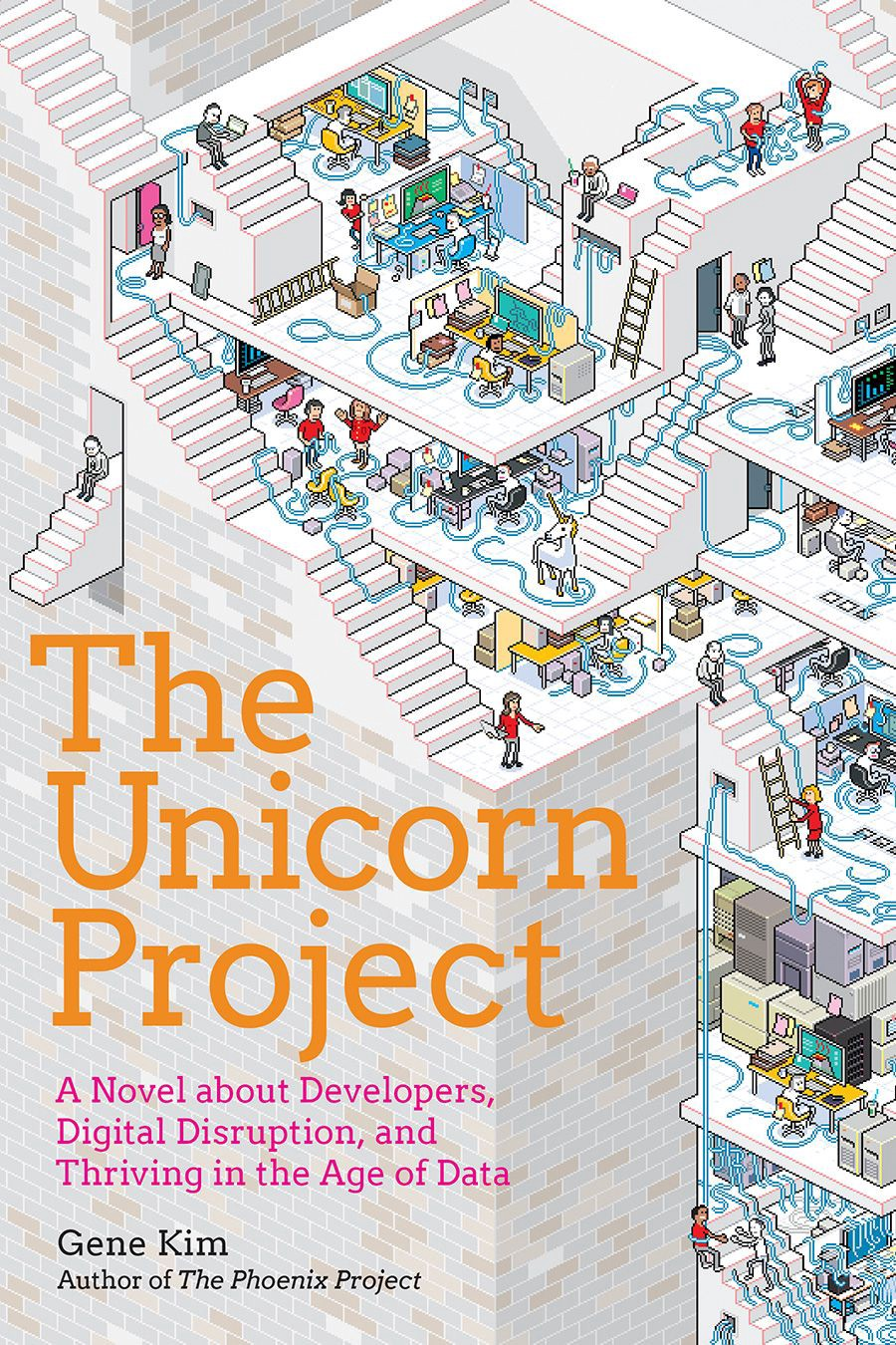 Book cover of The Unicorn Project