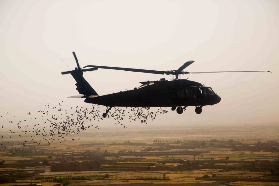 A literal airdrop: But Handshake isn't conducting psychological warfare, just giving away free stuff to bootstrap the network