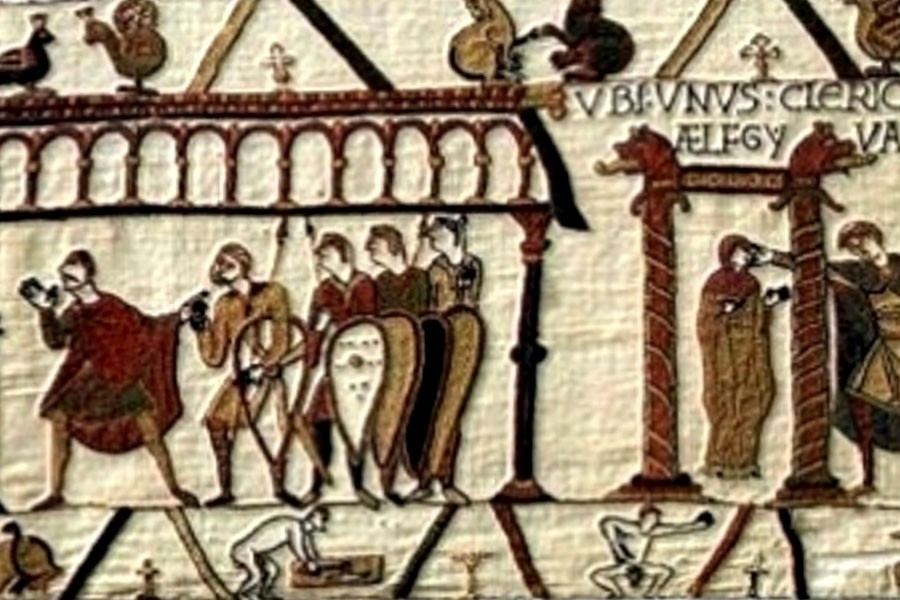 This 1,000-Year-Old Tapestry Proves a Dick Is Never Just a ...