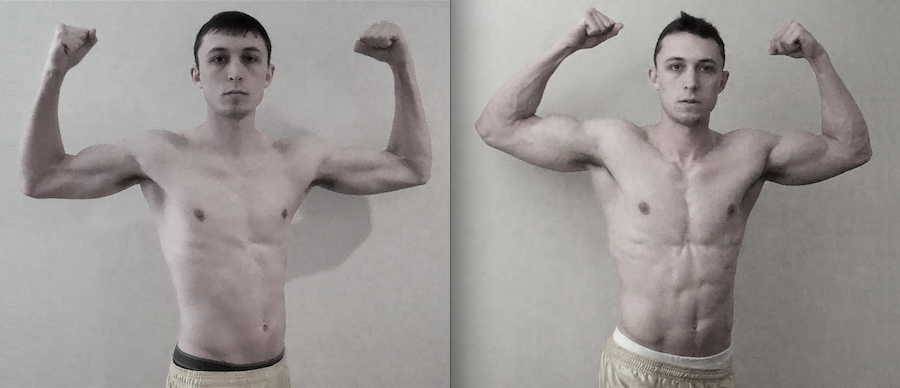 The Muscle Machine: How I Packed on 40 Pounds of Muscle in