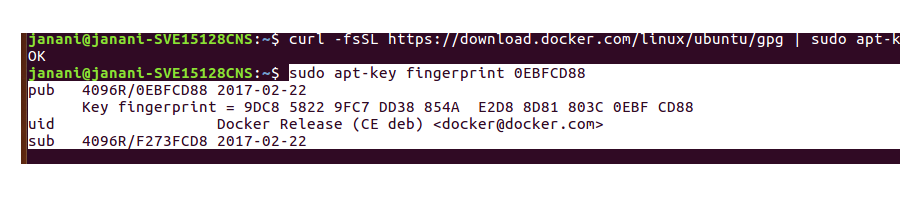 Part 2: Docker CE and Docker Compose installation with ubuntu