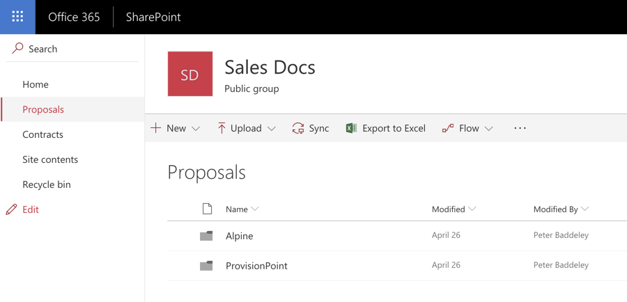 Create your own Document Locations in Dynamics 365 using Flow