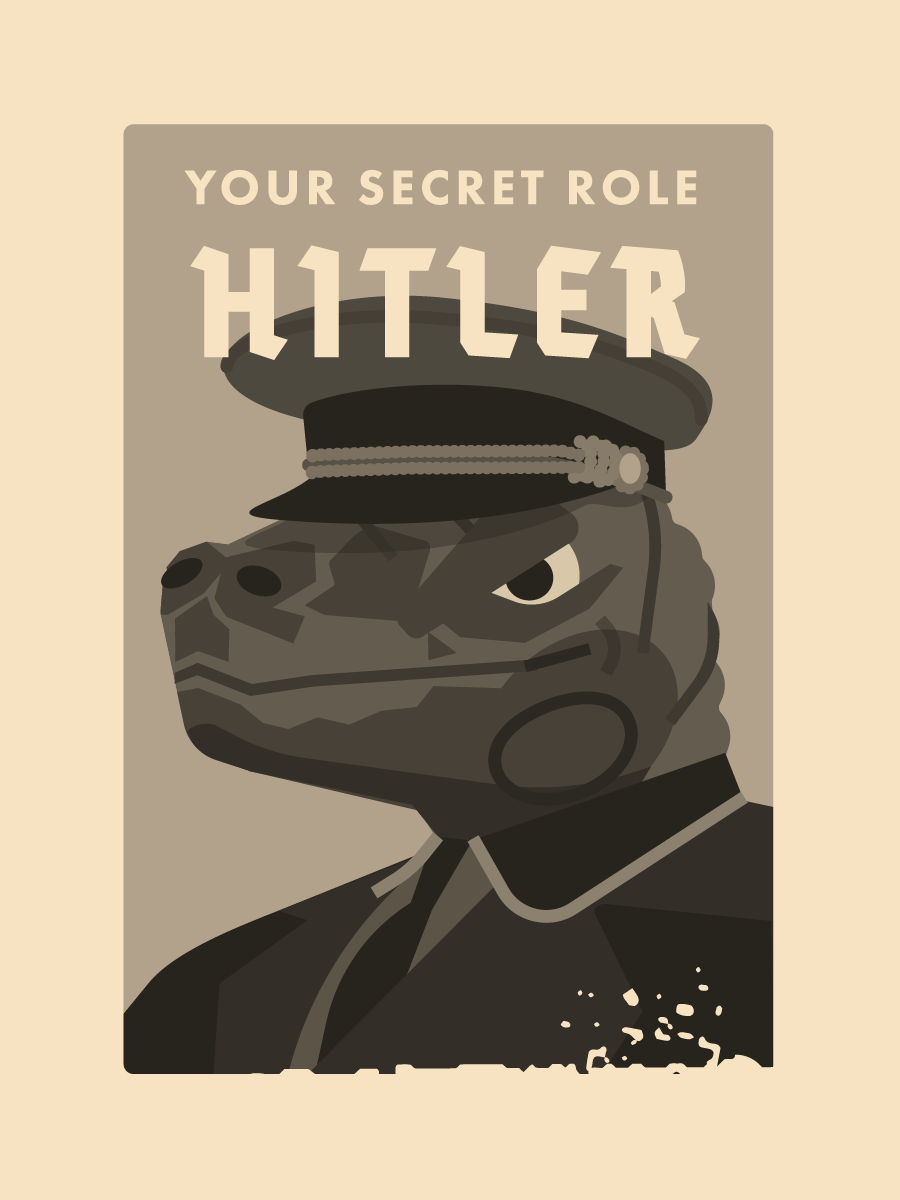 photo regarding Secret Hitler Printable identified as The Just one Season I was completely wrong whilst planning Magic formula Hitler