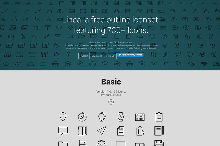 30+ Best Free Icon Packs for Designers and Developers 2019