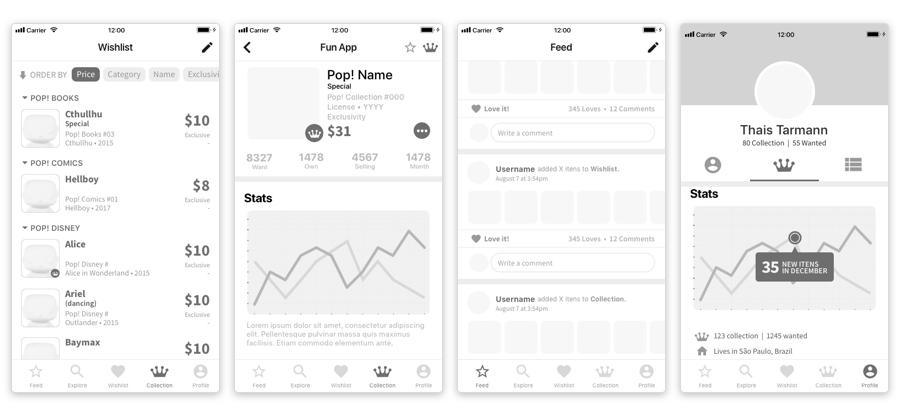 Designing a collection manager for Funko items — a UX case study