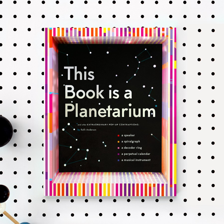 Book cover of This Book is a Planetarium by Kelli Anderson