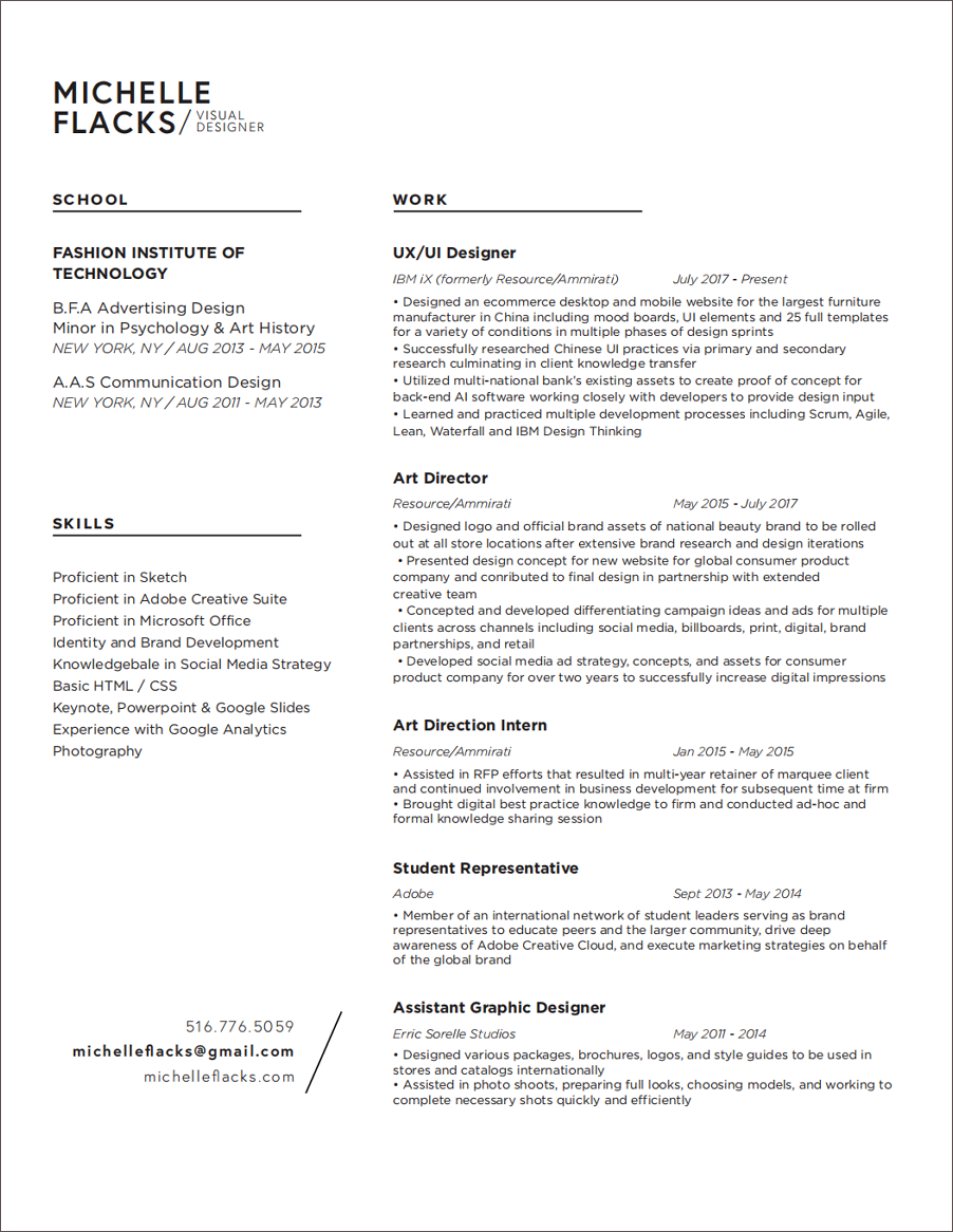 17 Best Free Ui Designer Resume Samples And Templates By Amy Smith Prototypr