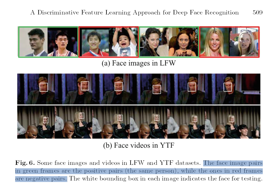Archived Post ] A Discriminative Feature Learning Approach