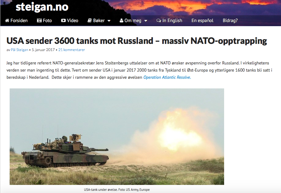 Three thousand fake tanks. How a network of conspiracy sites… | by @DFRLab  | Medium