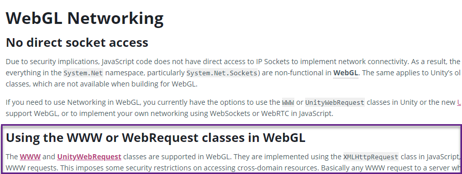 The way to Unity webGL support - IndieSquare Official Blog