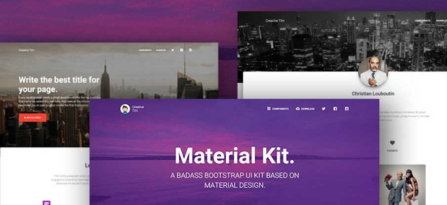 11 Best Free Material Design UI Kits for Sketch & PSD in 2018