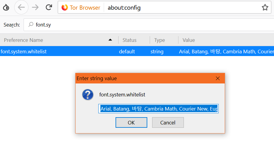 Sinhala Unicode Support for Tor Browser - Namila Bandara