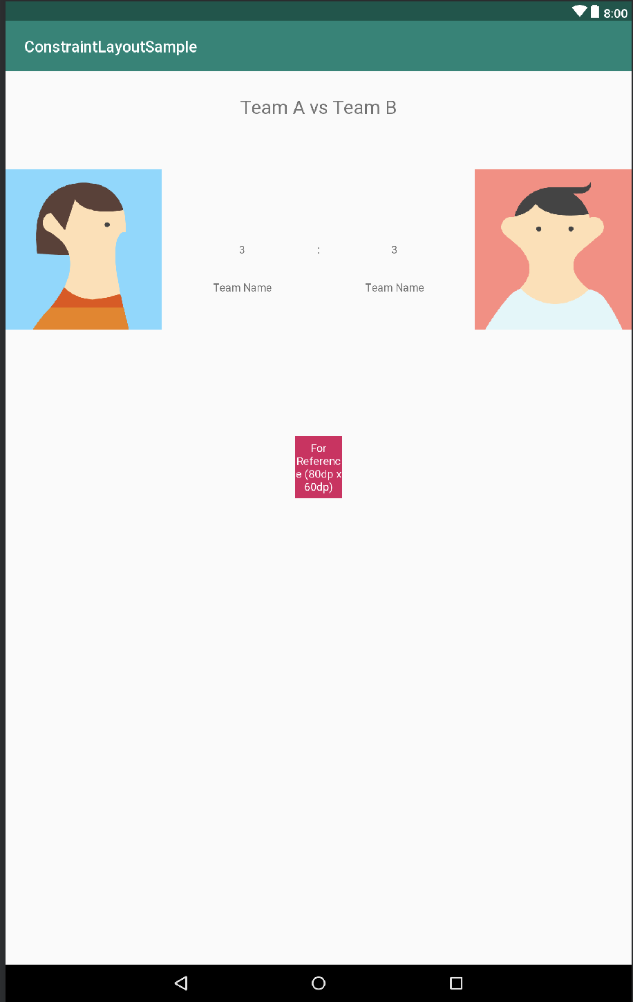 Getting your constraints right — ConstraintLayout