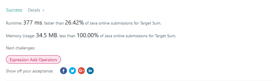 This lesson was originally featured at Solving the Target Sum problem with dynamic programming and more (https://medium.com/swlh/solving-the-target-sum-problem-with-dynamic-programming-and-more-b76bd2a...