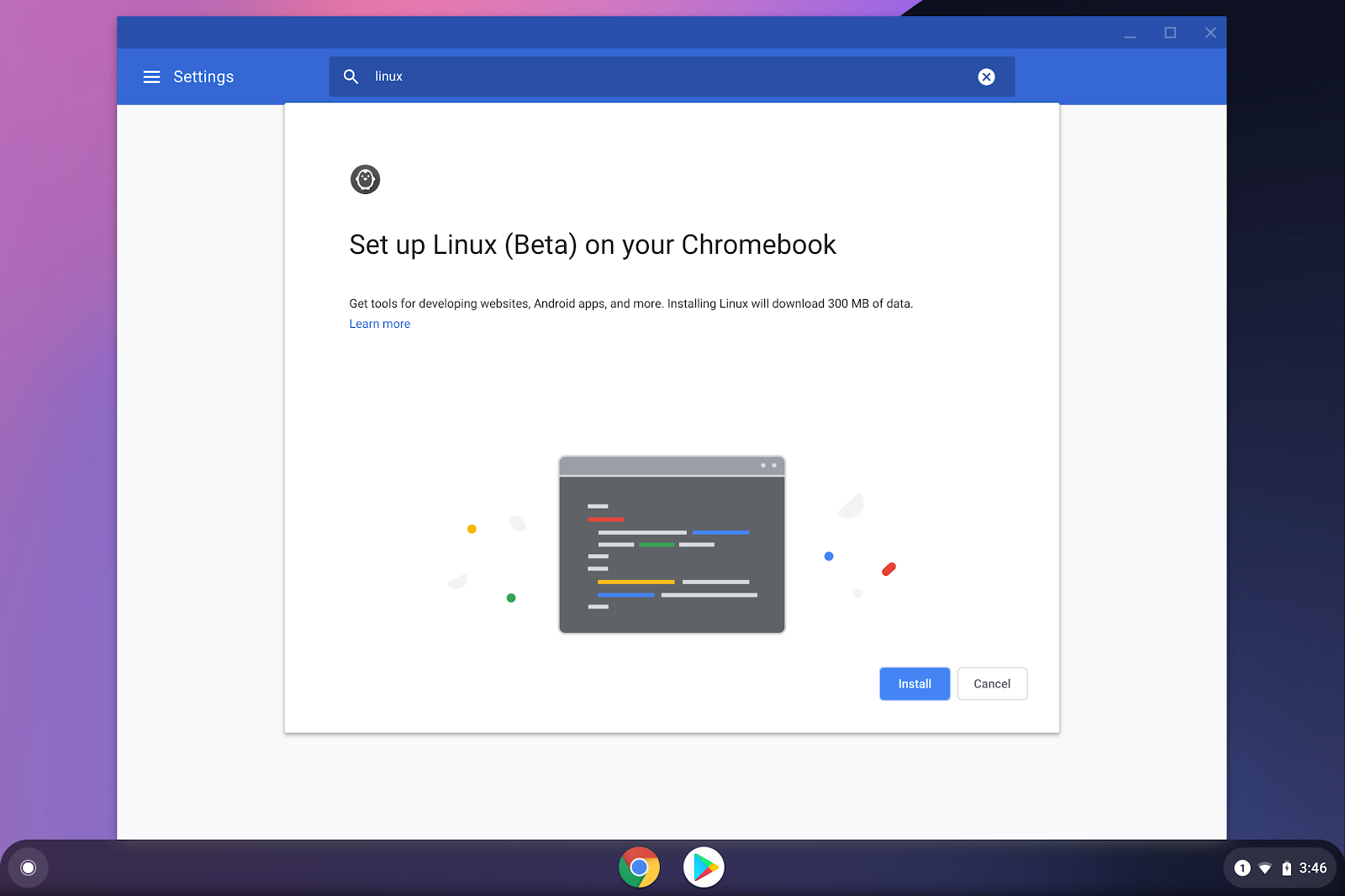 Remote debugging web apps running locally (in Chrome OS)