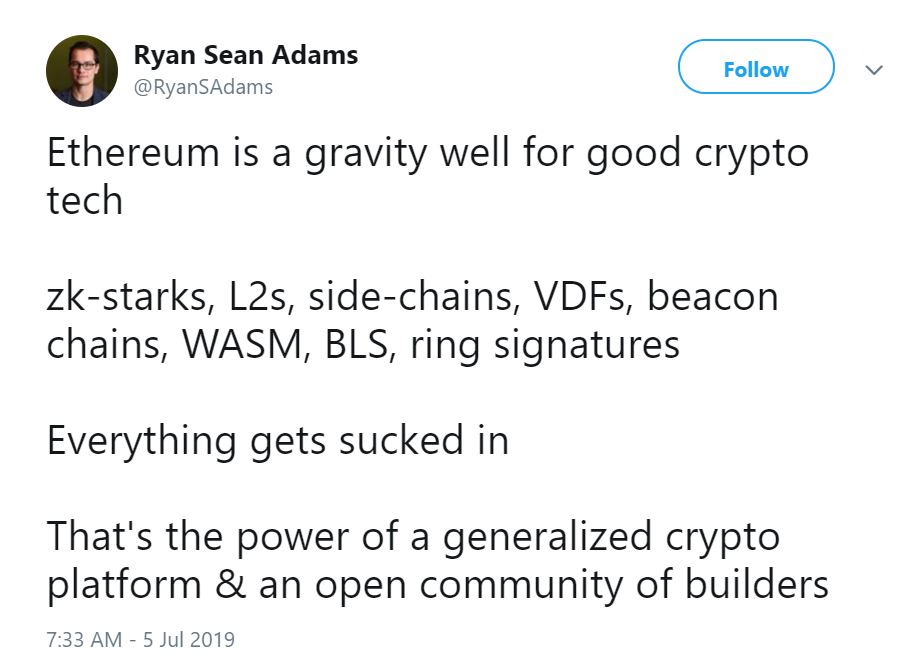Ethereum: Ecosystem and Projects' Updates, Opinion and
