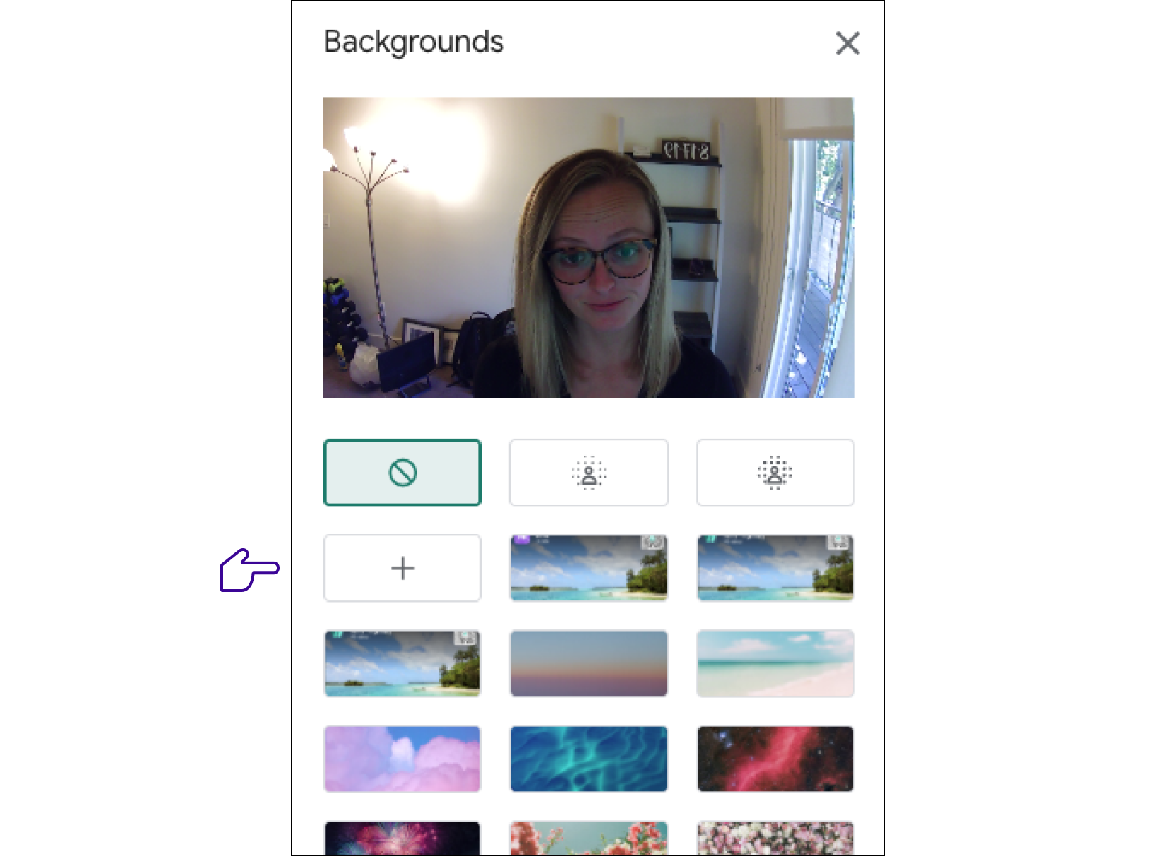 How To Add Google Meet Background image number 17