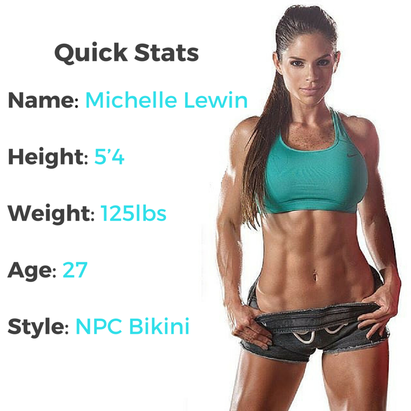 Michelle Lewin Workout Routine and Diet Plan - The Workout Magazine