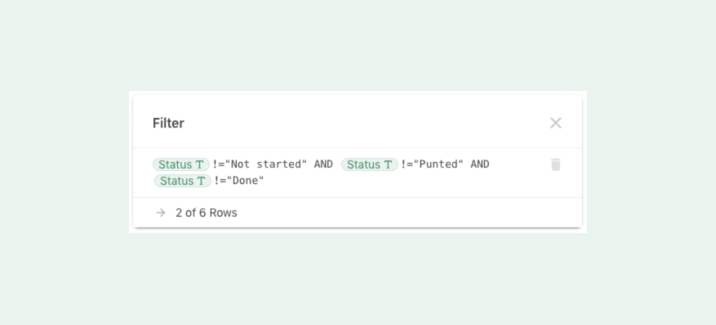 Making the simple things simple: Coda filters - Coda Blog