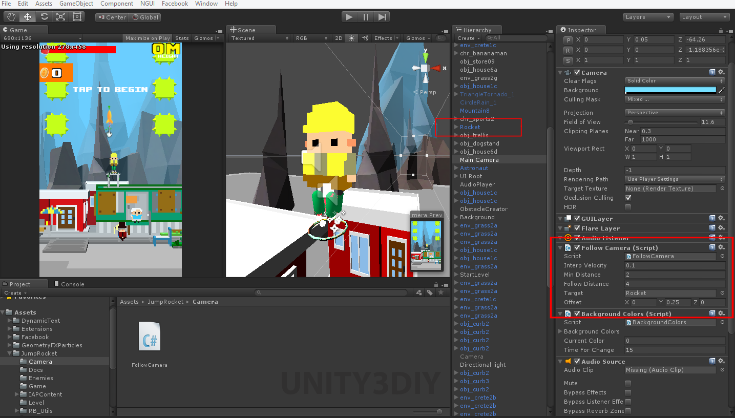 Unity 2d Camera Follow Script - FailArmy - Medium
