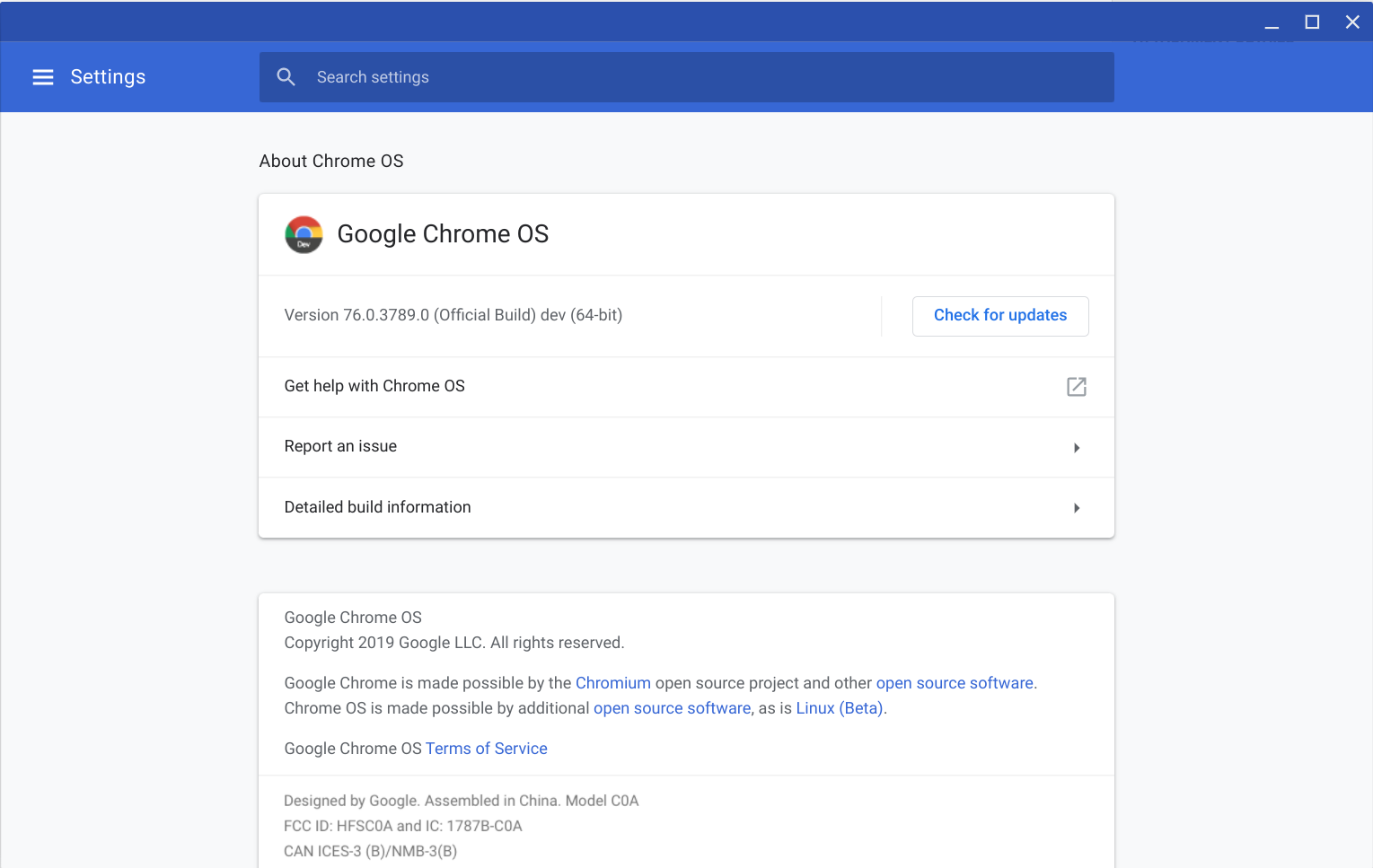 ChromeOS 76 0 3789 0 Rolling out to the Dev Channel — Adds Crostini