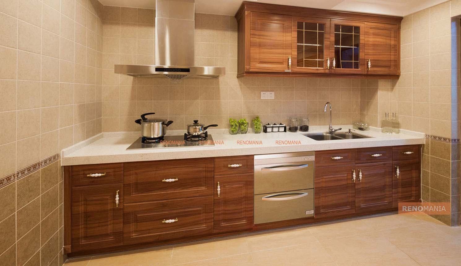 Straight Line Kitchen For Instant Character By Renomania Medium