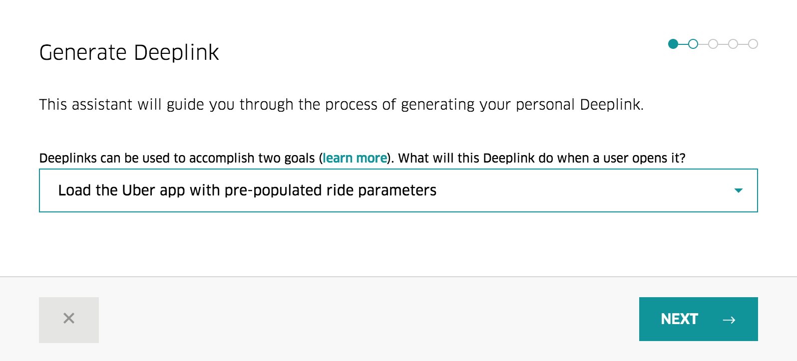 Generate Your Uber Deeplink In Seconds - Uber Developers