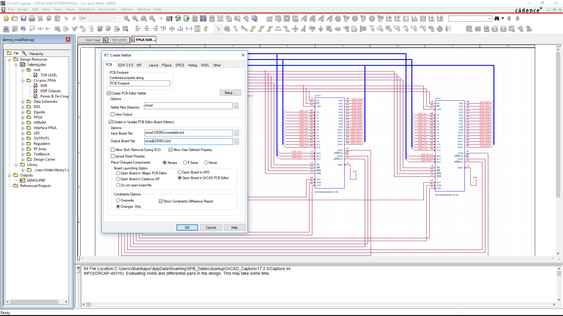 What is a PCB Netlist? - Cadence PCB - Medium Netlist To Schematic on