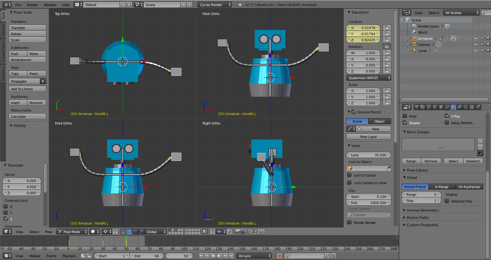 Beginner Blender: Syncing Animation to Sound with Keyframes in the