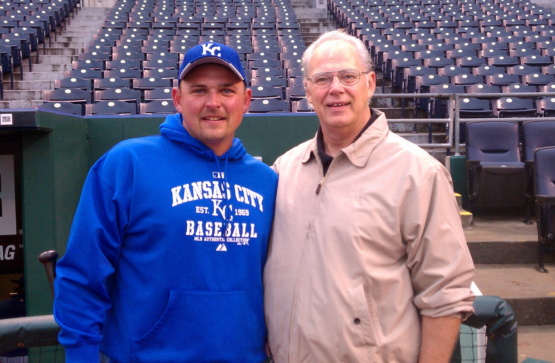 Billy Butler of the 2011 Royals meets Bill Butler of the 1969 Royals