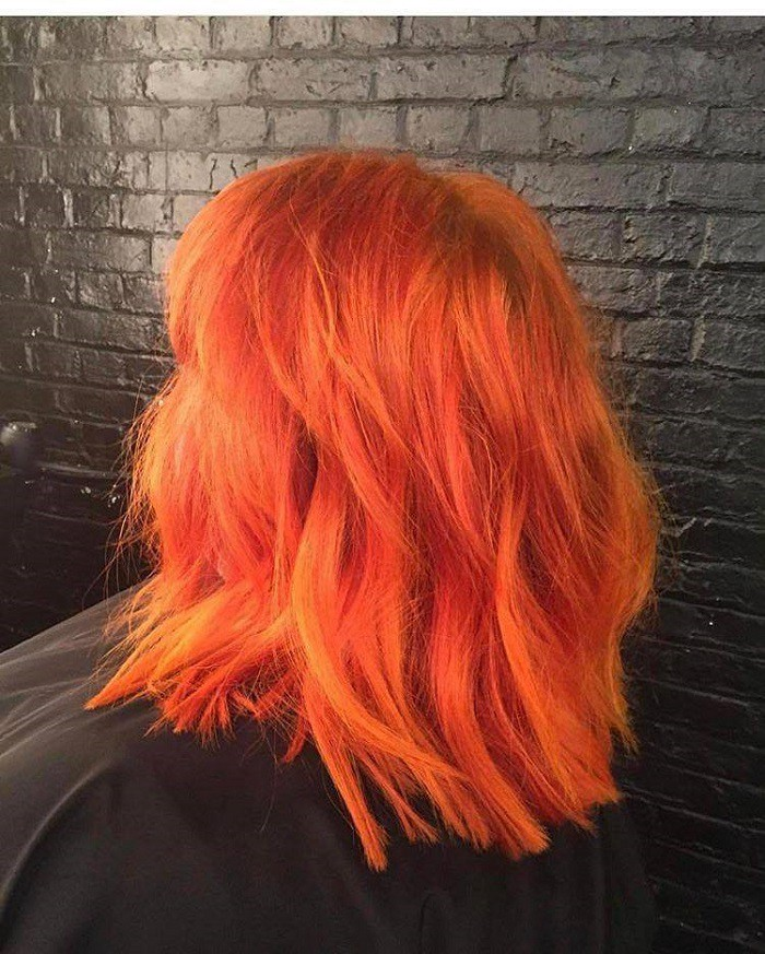 The Tangerine Hair Is The Newest Summer Trend News About