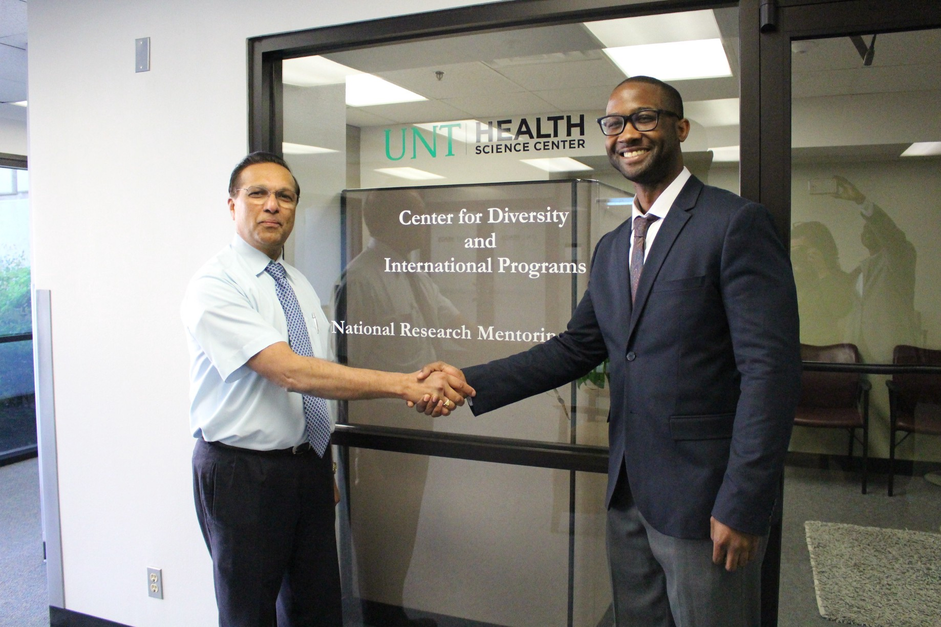 Dr  Lee Gibbs on Earning his Ph D  at UNTHSC and the