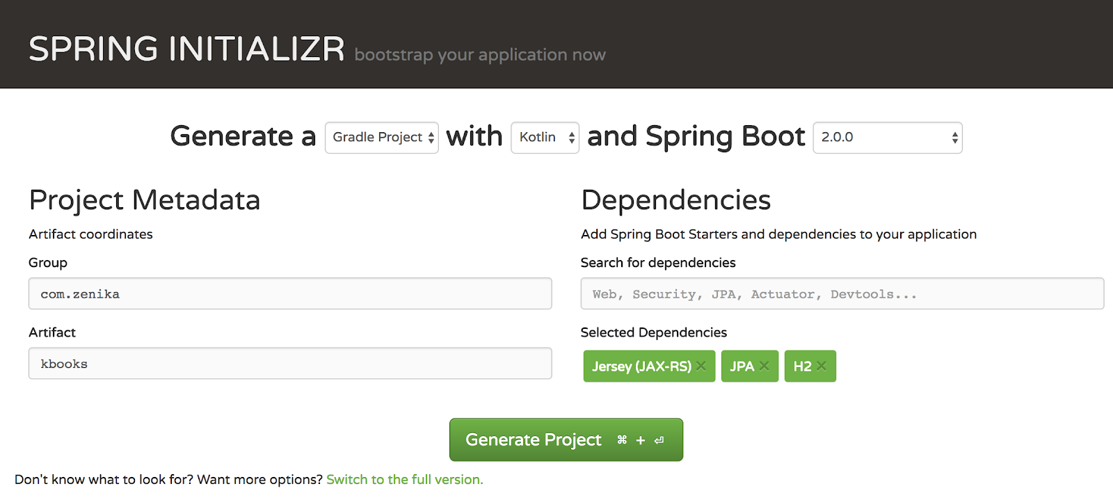 My first Spring Boot 2 application with Kotlin - Zenika