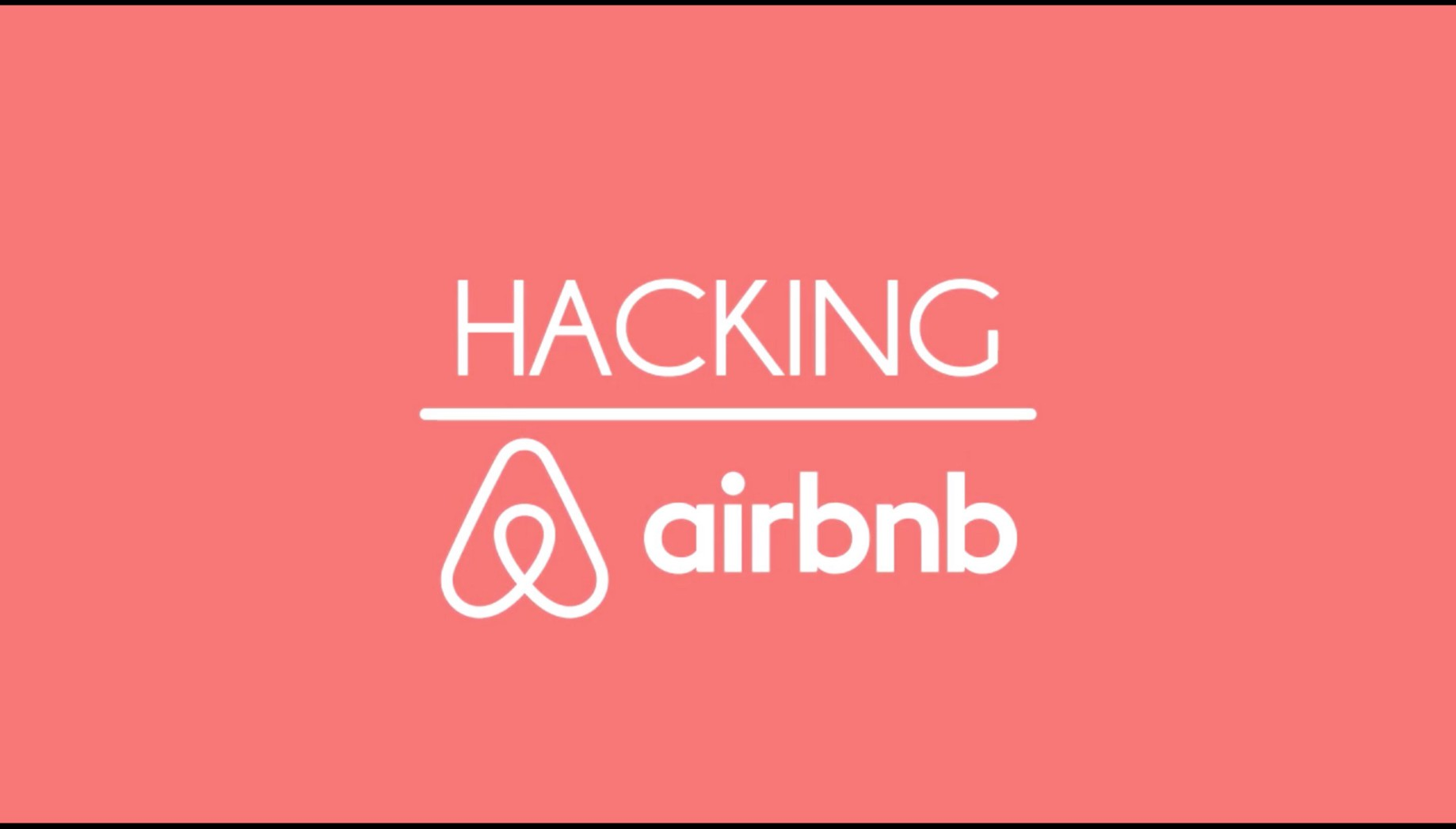 How i Hacked into AirBnB in three simple steps - Shahmeer Amir
