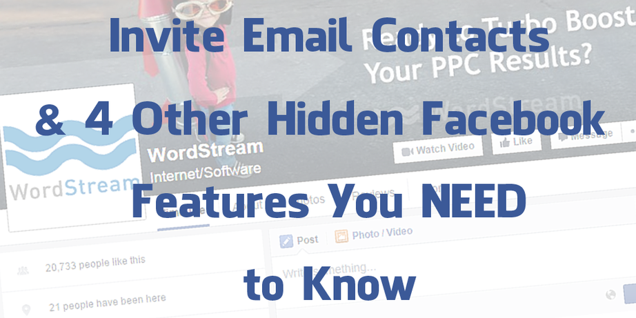 5 Hidden Facebook Features You NEED to Know - Marketing and