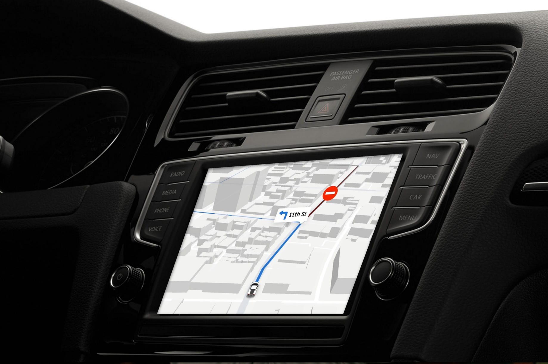 Bring your maps in-dash with Apple CarPlay - Points of interest