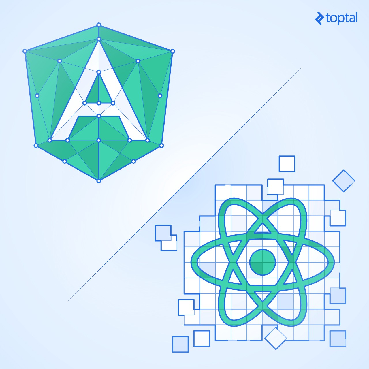 Angular vs  React: Which Is Better for Web Development?