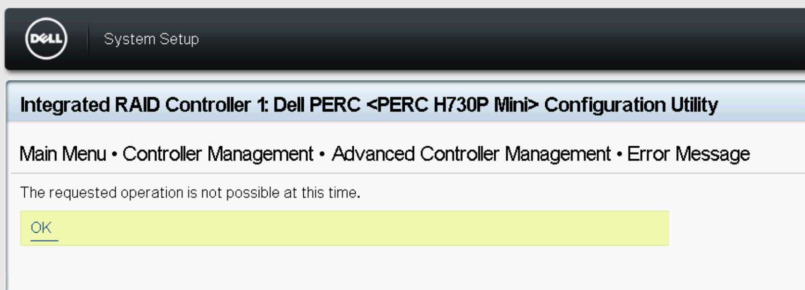 Dell Perc H330 Raid Configuration