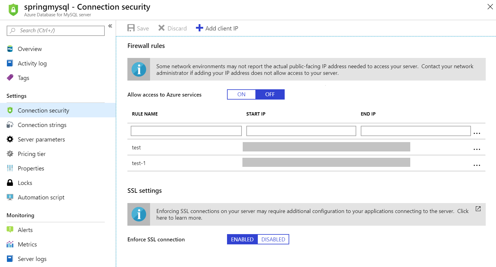 How to use Spring Data JPA with Azure Database for MySQL